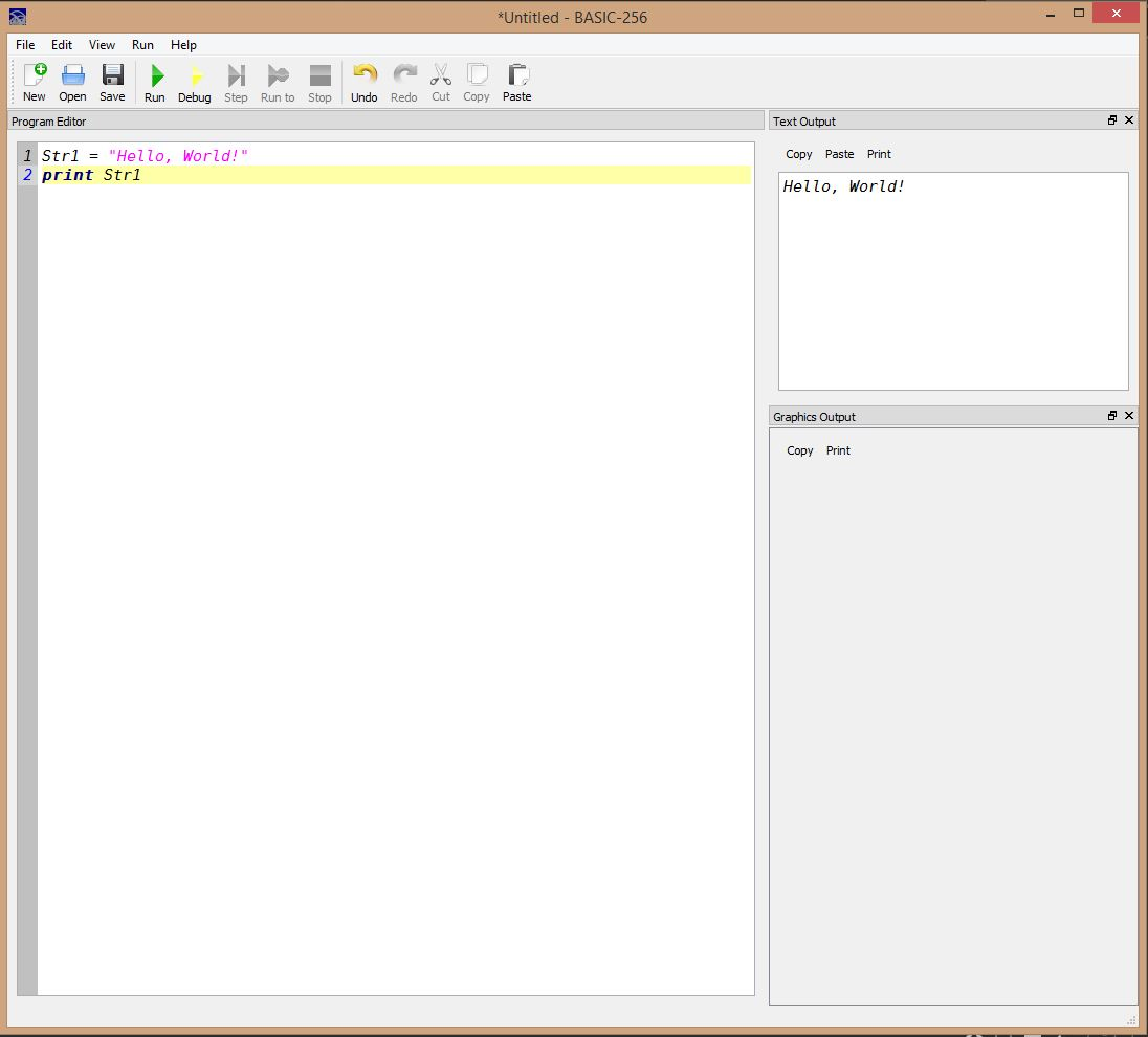 Lesson 0002 - Hello World with variables